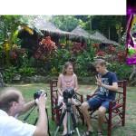 Как Артем Мельник снимает видео передачи
