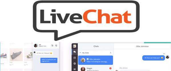 LiveChat — для онлайн-общения между компанией и ее клиентами