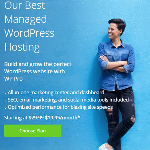 Bluehost — лучший WordPress хостинг всего за 195 ₽/мес