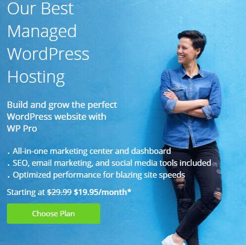 Bluehost — лучший WordPress хостинг всего за 195 ₽/мес