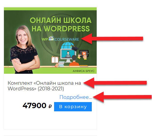 Видео курс «Онлайн — школа на WordPress» с комплектом программ
